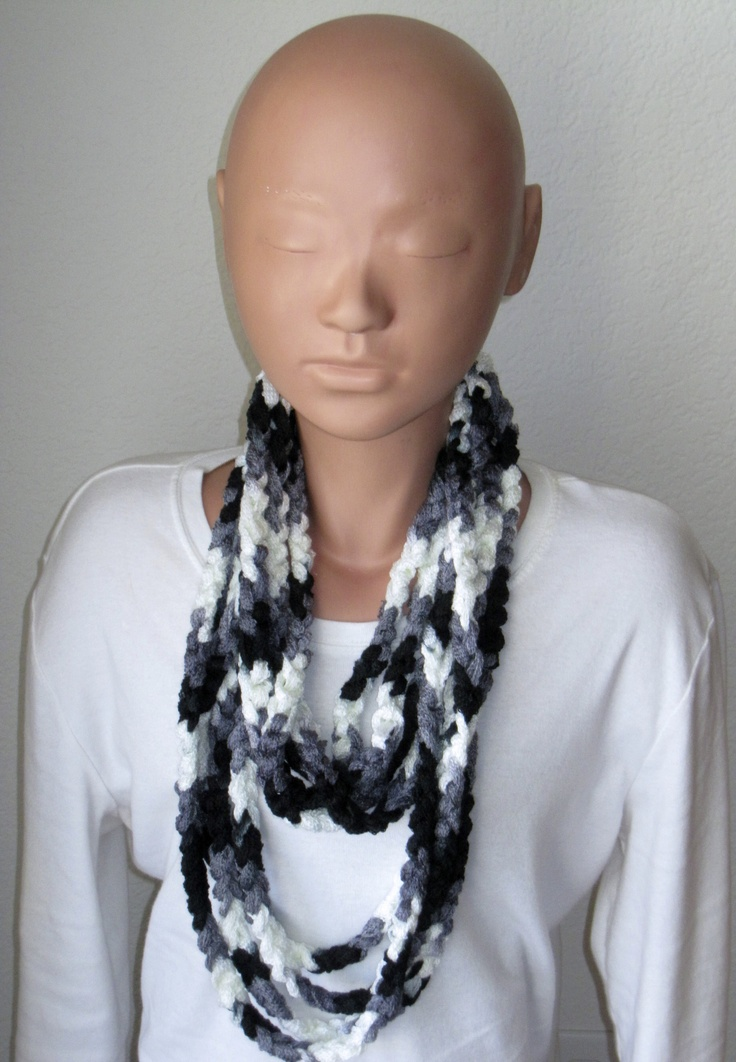 15 best Sashay Chain Scarves. images on Pinterest | Crochet scarves ...
