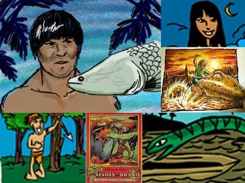 Amazonas Lendas: Amazonas Lendas, Amazona Lenda