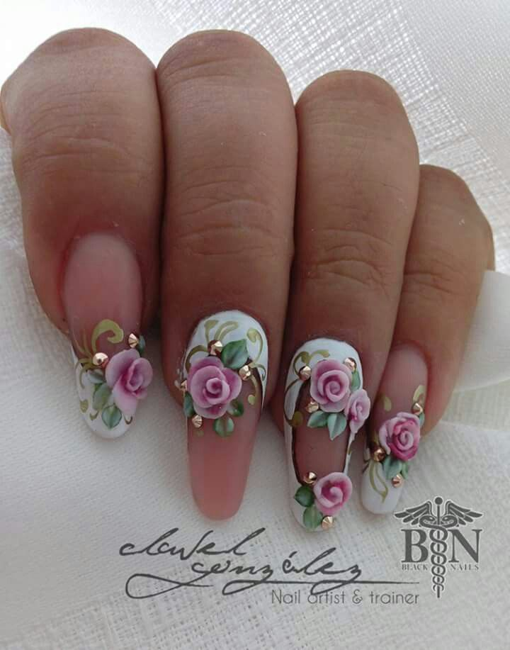 139 best Nails Did images on Pinterest | Nail design, Acrylic nails ...