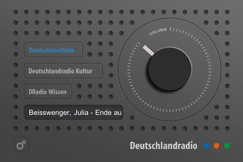 Das Dradio - Very cool Dieter Rams inspired radio app for the iPhone and iPad