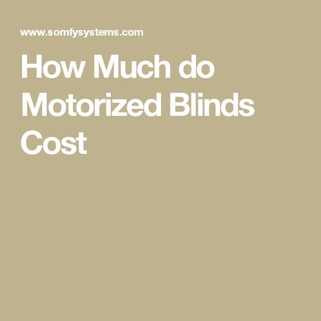 Best 25 Motorized Blinds Ideas On Pinterest Motorized