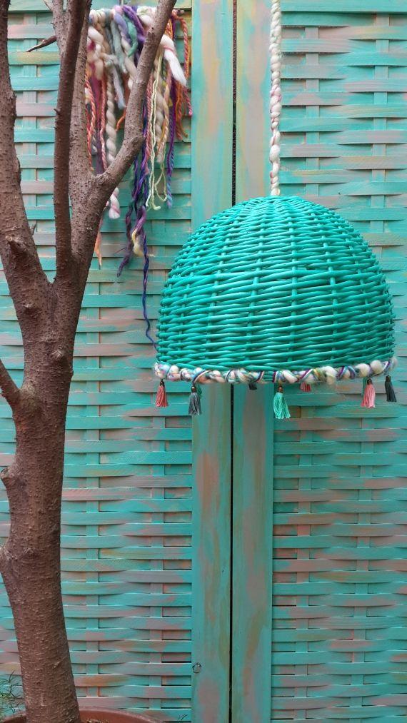Lámpara de Mimbre - Lámparas - Casa - 512439