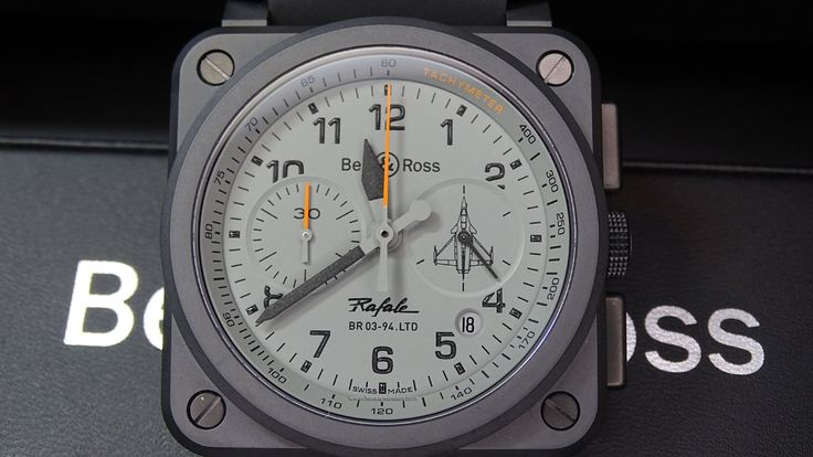 #Bell&Ross BR03 94 Rafale frontal