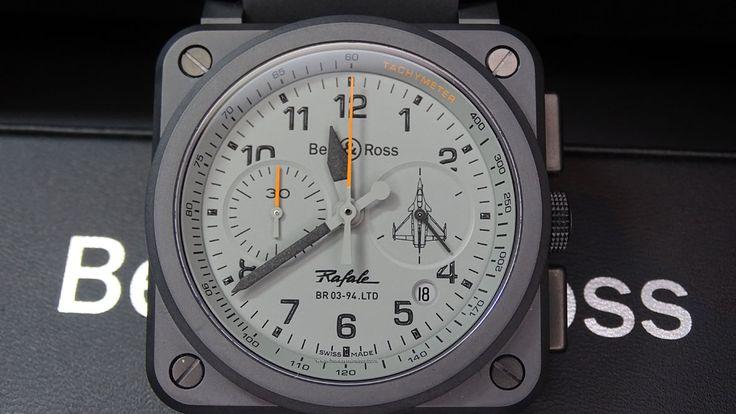 #Bell&Ross BR03 94 Rafale frontal