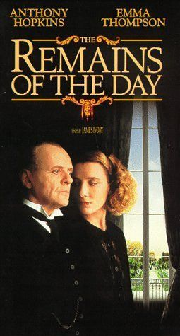 The Remains of the Day (1993) Wonderful film that draws you into their world instantly. Great performances. Hopkins voice is mesmerizing. Thompson plays one of her best roles.