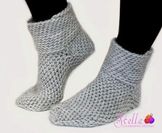 Vallari: Warm and cosy Bosnian Crocheted socks. How perfect for relaxing winter days!