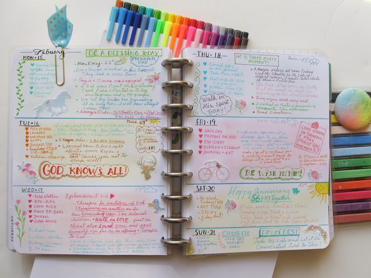 The Best Way to Stay Organized During College Her Campus