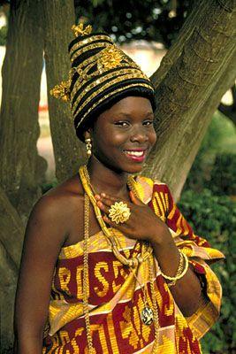 Fanti Princess at a Royal Durbar.  Sunset Vacations - Ghana - Photo Gallery