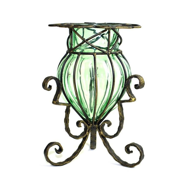 Wrought Iron Vase Stand Atcsagacity