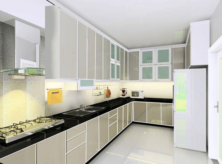 info desain dapur dan ruang makan luas elegan dan mewah