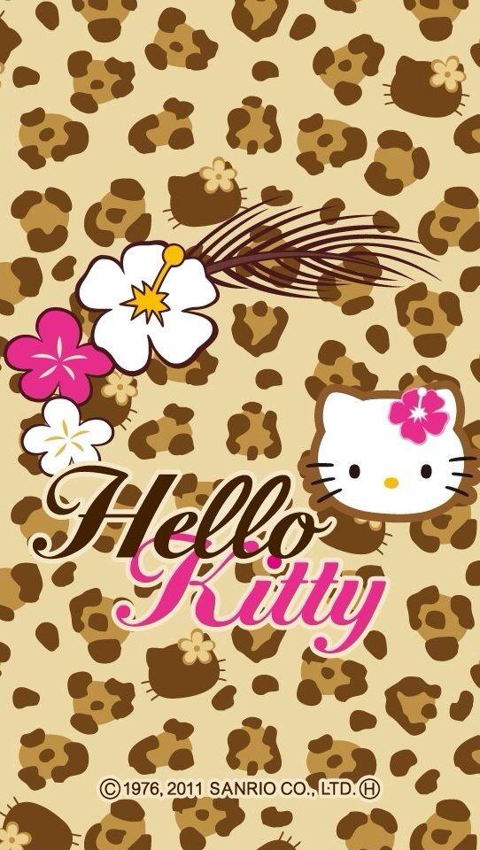 red leopard hello kitty wallpaper-#17