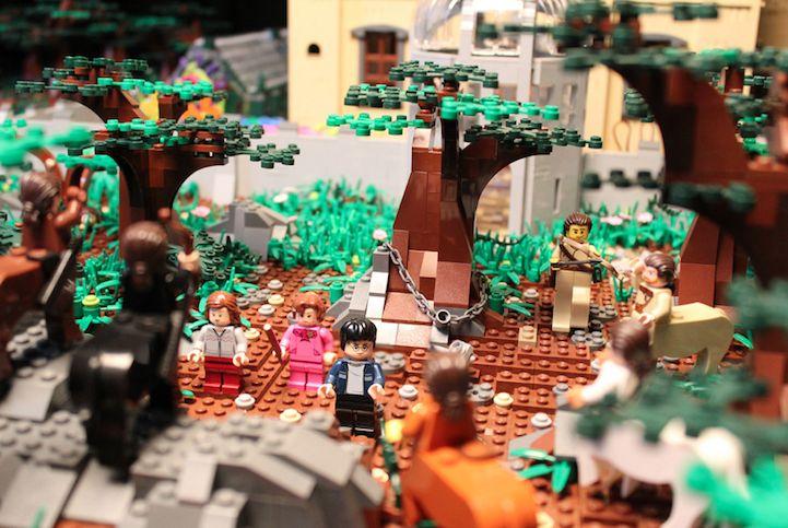 mãe castelo harry potter lego (10)