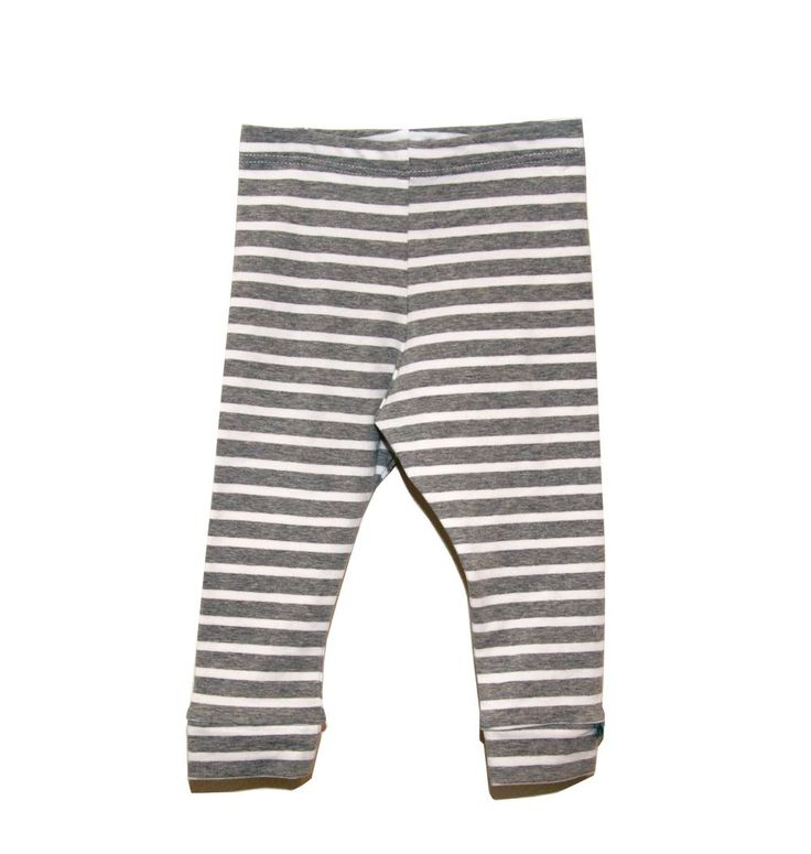 Grey Stripes Leggings - Organic Fabric via Charmtrolls Design. Click on the image to see more!