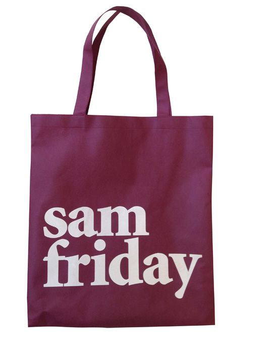 Sam Non Woven Bag Sam Friday