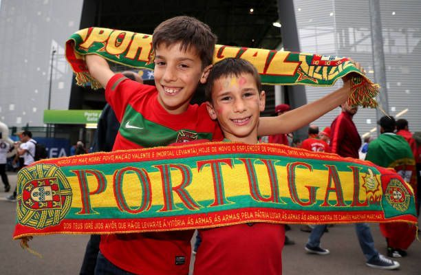Young Portugal #soccer fans