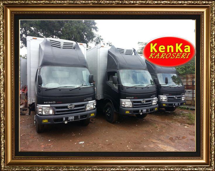 Truck / Truk Hino Box Pendingin ( Chiller & Freezer ) – Karoseri Mobil & Truck KenKa