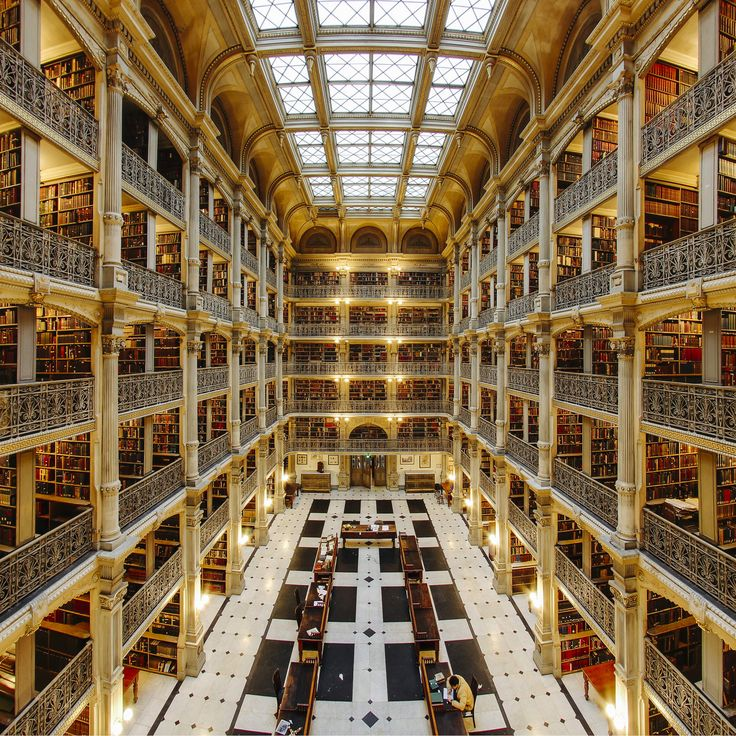 The 25 Most Beautiful Libraries In World