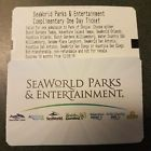 2 Single Day Tickets - Passes to Sea World or Busch Gardens - Valid Until 6/8/18