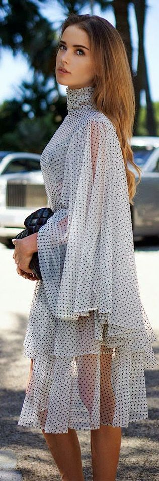 Pajonk White And Black Sexy Summer Monaco Cocktail Dress Idea by Maffashion