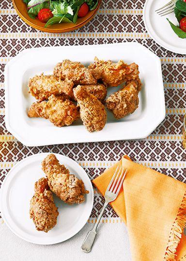 ジューシーフライドチキン のレシピ・作り方 │ABCクッキングスタジオのレシピ | 料理教室・スクールならABCクッキングスタジオ