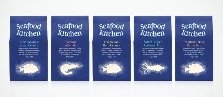 Seafood Kitchen — The Dieline