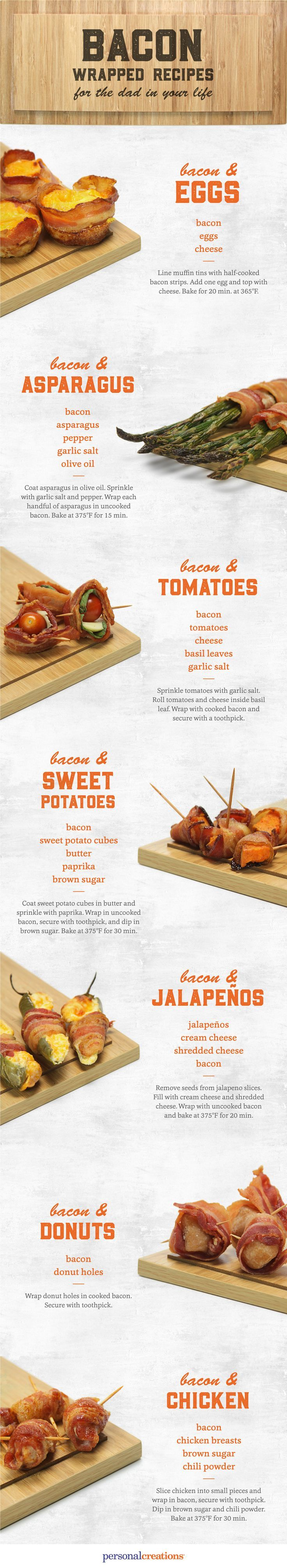 How To Make 7 Bacon Wrapped Snacks You Will Love
