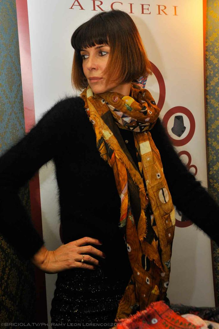 """Veronica Logan  Progetto """"Cinema Gift Room"""" in occasione dell' VIII Festival Internazionale del Film di Roma."""