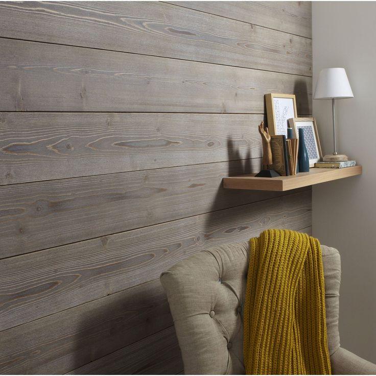 les 25 meilleures id es concernant murs d 39 aspect bois sur. Black Bedroom Furniture Sets. Home Design Ideas