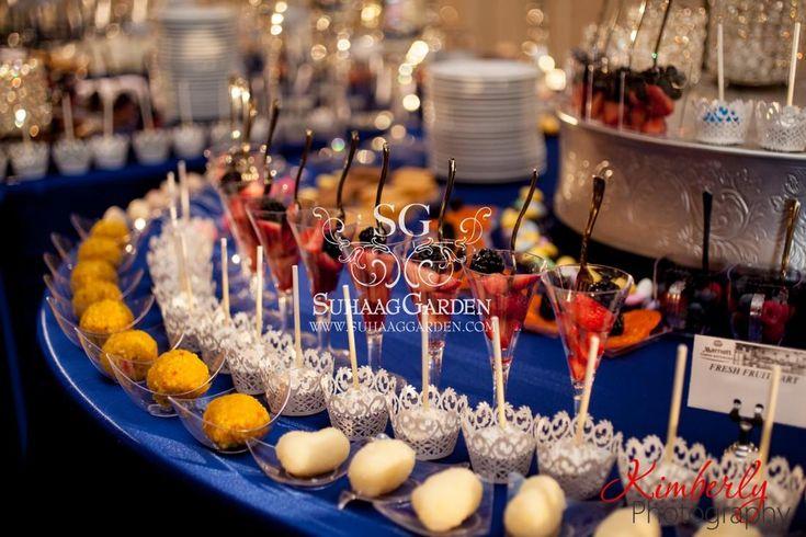 Dessert Lounge, Dessert Presentation, Event Decor, Event Design, Florida Wedding Decorator, Indian Wedding Decorator, Suhaag Garden, Valima
