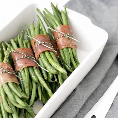 KERST: Haricots verts met krokante ham