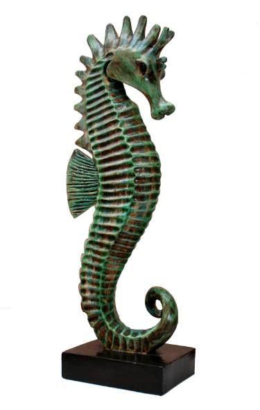 "Saatchi Art Artist Jackie Velarde; Sculpture, ""Caballo de mar"" #art"