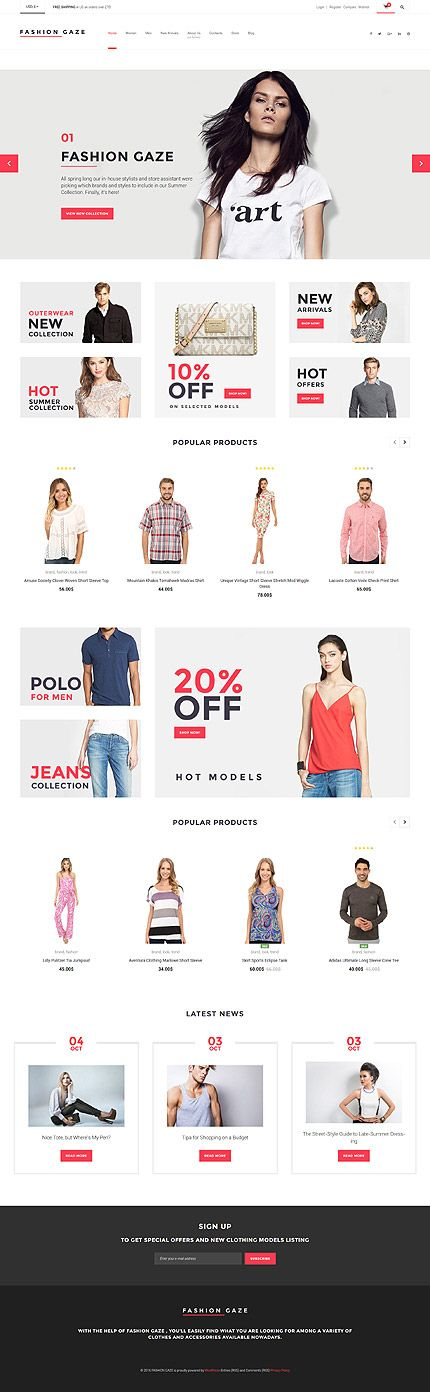 Fashion Clothing Online Store #WooCommerce #template. #themes #business #responsive #WooCommercethemes