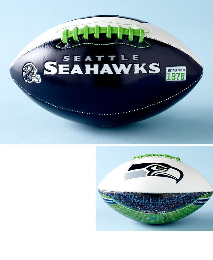 Official NFL Seahawks Team Football With Panoramic Stadium View Gift Collectible #OfficialNFL #SeattleSeahawks