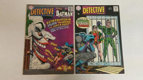 Detective Comics #365 (1967), Detective Comics 377, Early SA Joker and Riddler: $47.00 (0 Bids) End Date: Saturday Mar-10-2018 12:29:09 PST…