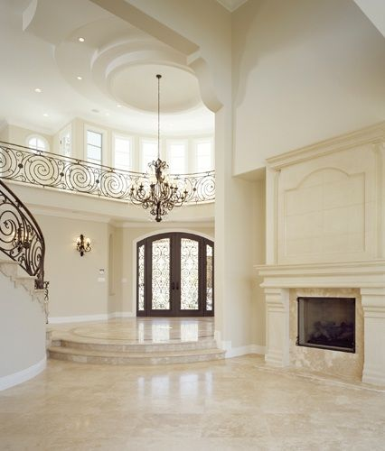 183 best foyer ideas images on pinterest entrance halls for Fancy houses inside