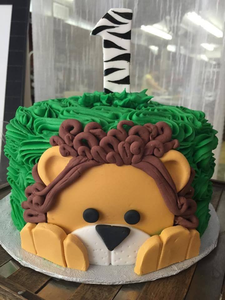 Safari Smash Cake