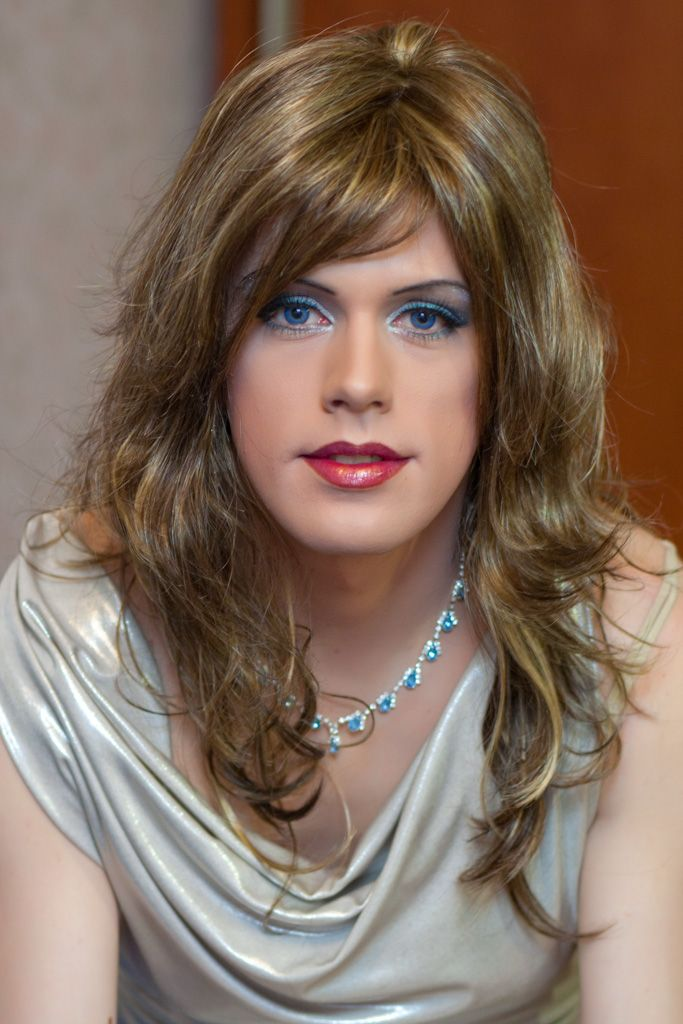 Long Haired Young Crossdressers Pinterest