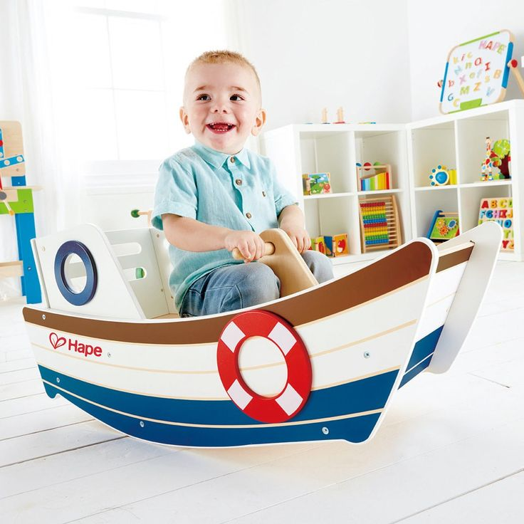 HAPE ride on wooden toy - perfect way to play, imagine and explore for our little Nathan #pintowin #entropywishlist