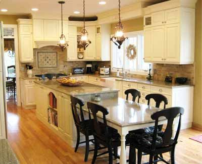 this french country classic kitchen features off white painted cabinetry with a brushed black glaze. Interior Design Ideas. Home Design Ideas