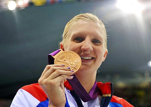Team GB Medals 2012  23. Rebecca Adlington - BRONZE  (Swimming: Women's 800m Freestyle)