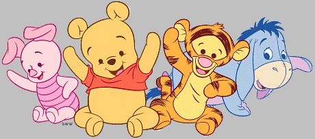 animaatjes baby pooh 75627gif winnie the pooh baby shower invitations 460x203