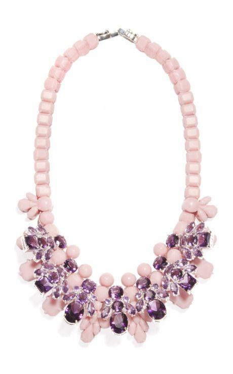 Jan 2014-Pink Gin Necklace by Ek Thongprasert for Preorder on Moda Operandi