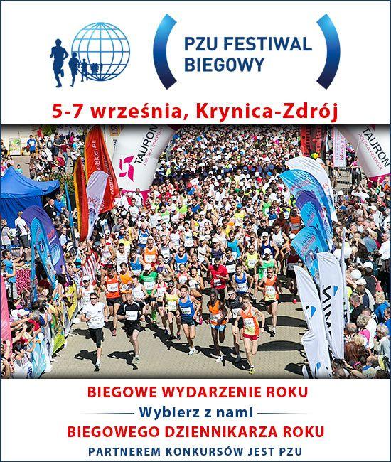 Festiwal Biegowy w Krynicy - życiowa dzięsiątka