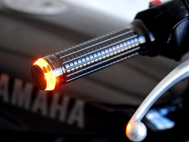 Clignotant Motogadget m-blaze disc embout de guidon gauche - noi, Wats Motor - Café Racer - Scrambler & motos classiques
