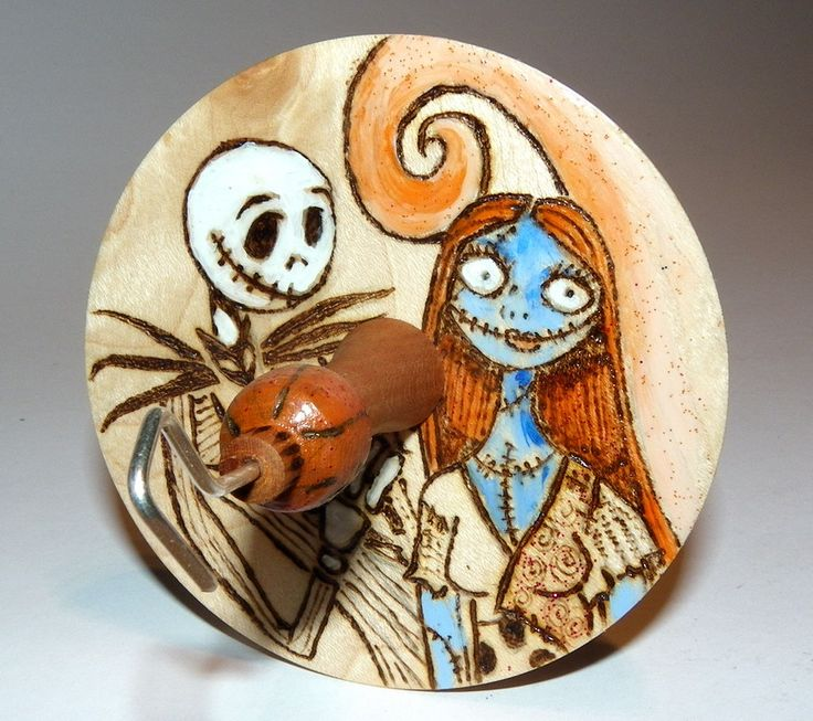 Drop Spindle Jack and Sally March 2016