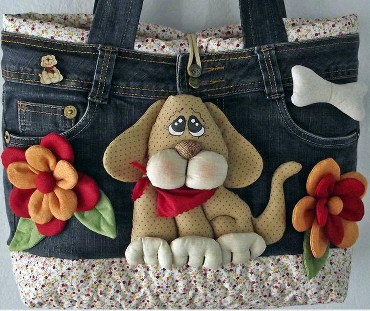 bolsa jeans                                                                                                                                                     Mais