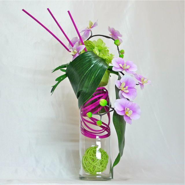 17 best ideas about composition florale artificielle on. Black Bedroom Furniture Sets. Home Design Ideas