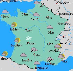 blog pédagogique de FLE (Français Langue Étrangère): Quel temps fait-il aujourd'hui en France?
