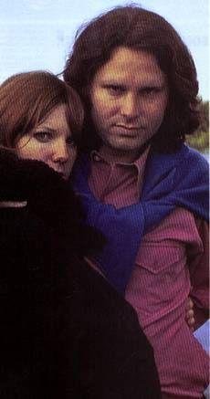 """Jim Morrison and Pamela Courson """"Morrison"""" Last photos of Jim Morrison and Pam"""