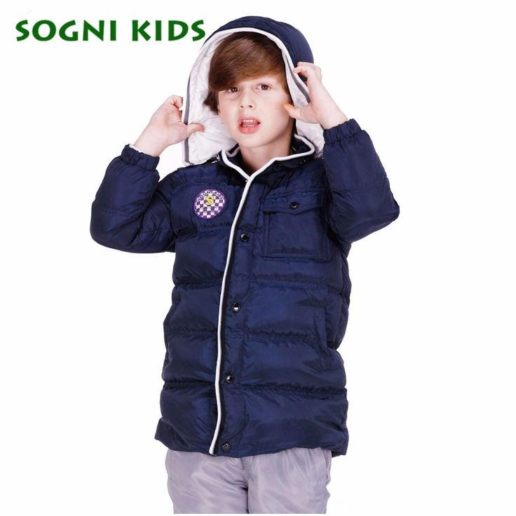 53.95$  Watch here - http://ali1qd.shopchina.info/go.php?t=32756688399 - SOGNI KIDS High Quality Brand Kids Winter Jackets For Boys 90% White Duck Down Jacket Long Warm Coat Boys Clothing Outerwears  #SHOPPING